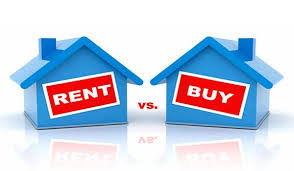 The benefits of renting over buying a house